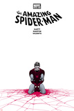 The Amazing Spider-Man No655 Cover: Spider-Man Kneeling