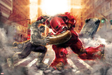 The Avengers: Age of Ultron - Hulk Fights Hulkbuster