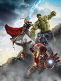 Thor  Hulk  Captain America  Hawkeye  and Iron Man from The Avengers: Age of Ultron