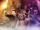 Guardians of the Galaxy - Star-Lord  Rocket Raccoon  Groot  Drax  Gamora  Ronan the Accuser