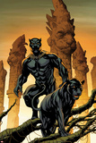 Black Panther No 1 Cover Art