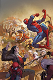 The Amazing Spider-Man No 14 Cover  Featuring: Spider-Man  Morlun  Silk and More