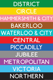 London Underground Tube Lines Travel