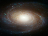 Hubble Photographs Grand Design Spiral Galaxy M81 Space Photo Art Poster Print