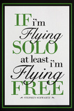 If I'm Flying Solo At Least I'm Flying Free