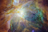 Spitzer and Hubble Create Colorful Masterpiece Space Photo
