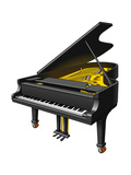 Concert Grand Piano  Musical Instrument