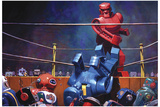 The Final Blow - Eric Joyner Poster Reproduction d'art par Eric Joyner