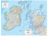 2014 Ireland and Scotland - National Geographic Atlas of the World  10th Edition