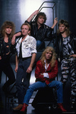 Def Leppard - Group Stairs 1987