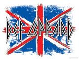 Def Leppard British Flag
