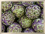Artichokes for Sale at Market at Campo De' Fiori Photo encadrée par Richard L'Anson