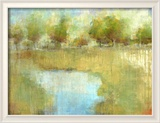 Guild Pond 2 Reproduction giclée encadrée par Maeve Harris