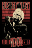 Billy Idol - Flesh For Fantasy Tour  1984