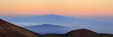 Sunrise Above Mauna Kea Volcano  the Highest Point in Hawaii