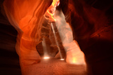 Sunlight Streams into Antelope Pass Canyon