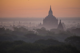 The Terraces of a Buddhist Temple in Bagan