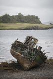Shipwreck in Little Horseshoe Bay on Kerrera Isle  Part of the Scottish Inner Hebrides