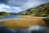 Middle Lake Kylemore in Ireland's Connemara  County Galway
