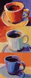 Three Cups o' Joe I Reproduction d'art par Robert Burridge