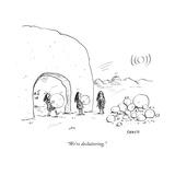 """""""We're decluttering"""" - New Yorker Cartoon"""