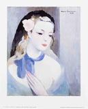 The Blue Ribbon Reproduction d'art par Marie Laurencin