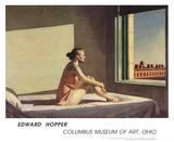 Soleil matinal Reproduction d'art par Edward Hopper