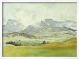 In the Dolomites  1914