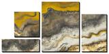 Lava Flow Tableau multi toiles par Patricia Quintero-Pinto