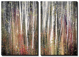 Pink Autumn Tableau multi toiles par Ursula Abresch