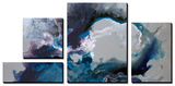 Cerulean waters Tableau multi toiles par Sydney Edmunds
