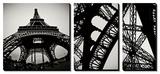 Tour Eiffel Tableau multi toiles par Erin Berzel