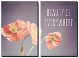 Beauty Is Everywhere Tableau multi toiles par Susannah Tucker