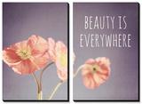 Beauty Is Everywhere Tableau multi toiles par Susannah Tucker