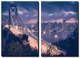 Classic City by the Bay, San Francisco Tableau multi toiles par Vincent James