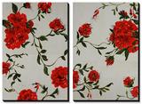 Floral Spice Tableau multi toiles par Farrell Douglass